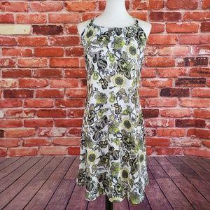 PrAna Quinn Dress Floral Print - XL